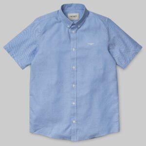 22596 SS Lancaster Shirt - Bleach-Wax