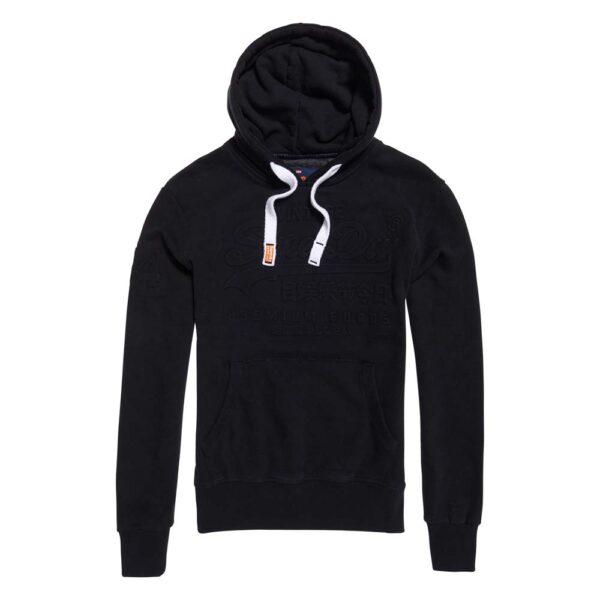 M20076 Premium Goods Embossed Hood – Black