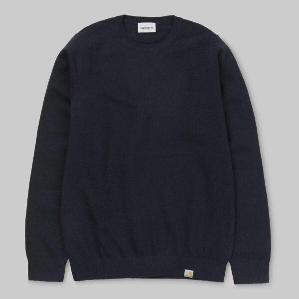 24643 Playoff Sweater – Dark Navy